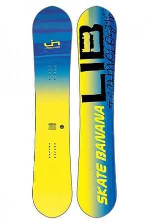 Сноуборд  SK8 BANANA Yellow Lib Tech. Цвет: желтый