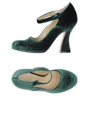 Туфли LUCA VALENTINI. Цвет: зеленый