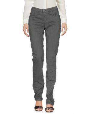 Повседневные брюки BALLANTYNE. Цвет: зеленый-милитари