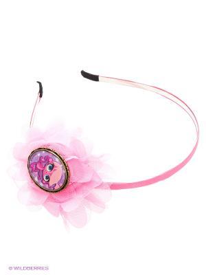 Ободок для волосОбезьянка Минка LITTLEST PET SHOP Daisy Design. Цвет: розовый