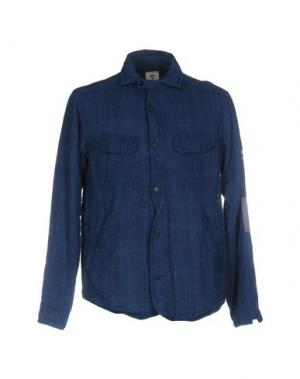 Куртка BSBEE. Цвет: синий