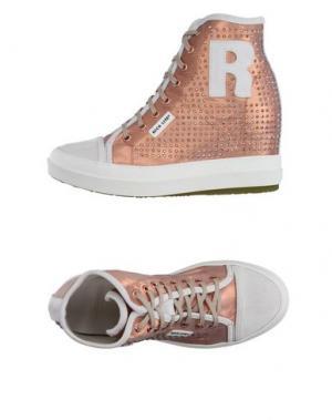 Высокие кеды и кроссовки RUCO LINE. Цвет: медный