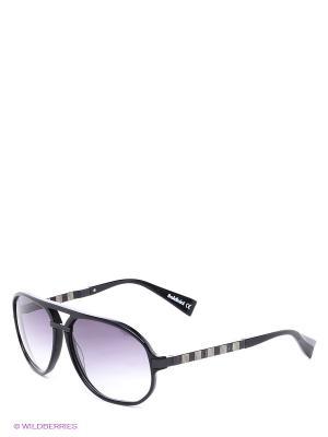 Солнцезащитные очки BLD 1411 202 Baldinini. Цвет: черный