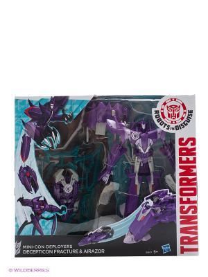 Трансформеры Роботс-ин-Дисгайз Миникон Деплойерс Hasbro. Цвет: сиреневый