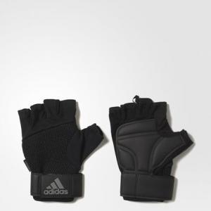 Перчатки Training  Performance adidas. Цвет: черный