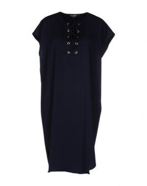 Платье до колена TESS GIBERSON. Цвет: темно-синий