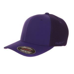 Бейсболка классическая  6533 Purple Flexfit. Цвет: фиолетовый