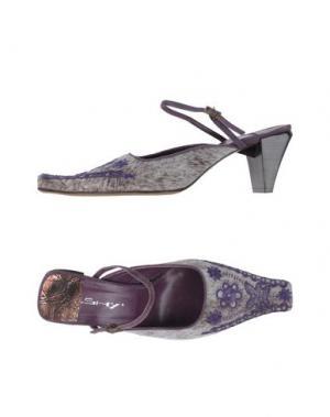 Туфли SHY. Цвет: светло-серый