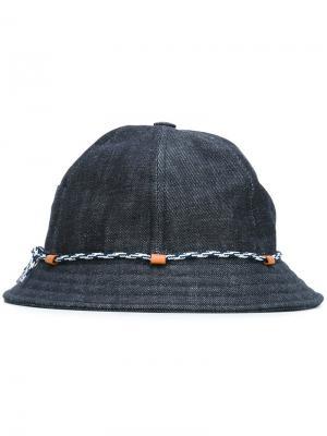 Шляпа KI-BOB Beton Cire. Цвет: синий