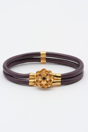 Браслет Samsara. Цвет: фиолетовый