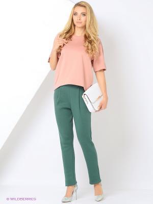 Блузка RUXARA. Цвет: бледно-розовый