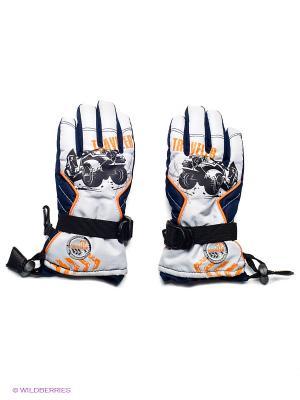 Перчатки Чудо-Кроха. Цвет: темно-синий, серый