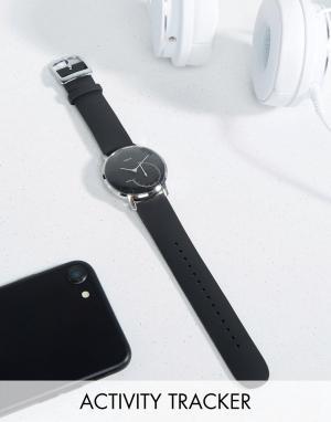 Nokia Черные умные часы HWA01 36 мм. Цвет: черный