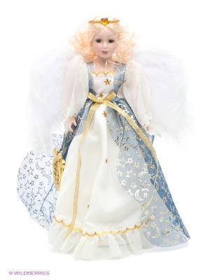 Фарфоровая кукла Мэгги Lisa Jane. Цвет: белый