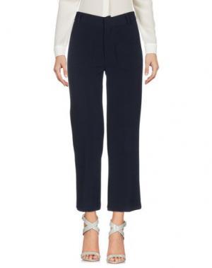 Повседневные брюки VICOLO. Цвет: темно-синий