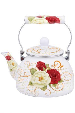 Чайник Роза 2,5 л Appetite. Цвет: мультицвет