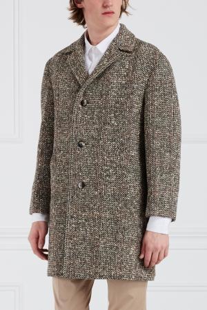 Хлопковое пальто Libertine. Цвет: серый