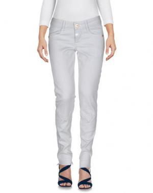 Джинсовые брюки LE JEAN DE MARITHÉ + FRANÇOIS GIRBAUD. Цвет: небесно-голубой