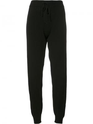 Спортивные брюки с боковыми полосками Chinti And Parker. Цвет: чёрный