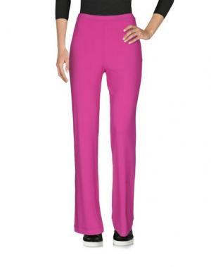 Повседневные брюки MARTA PALMIERI. Цвет: фуксия