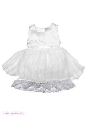 Платье Pampolina. Цвет: белый