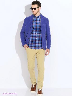 Пиджак Eden Park. Цвет: синий, фиолетовый