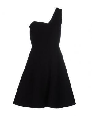 Короткое платье ROLAND MOURET. Цвет: черный