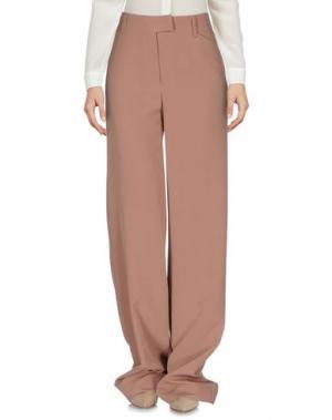 Повседневные брюки MARCO BOLOGNA. Цвет: верблюжий