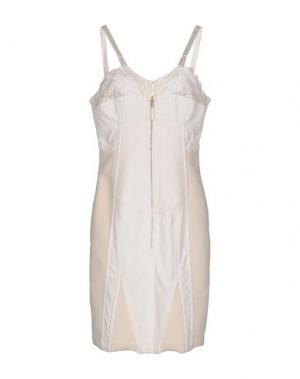 Короткое платье JEAN PAUL GAULTIER FEMME. Цвет: слоновая кость