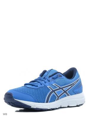Спортивная обувь GEL-ZARACA 5 GS ASICS. Цвет: голубой, белый, темно-синий