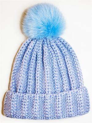 Шапка IVY Wooly's. Цвет: светло-голубой