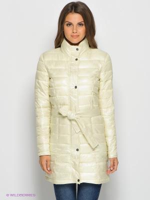 Куртка Emoi by Emonite. Цвет: светло-желтый
