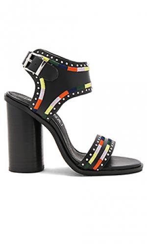 Туфли на каблуке eves Sol Sana. Цвет: черный