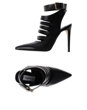 Ботинки GIAMPAOLO VIOZZI. Цвет: черный