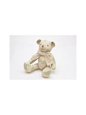 Медвежонок Кубеба KUBEBA. Цвет: бежевый, зеленый