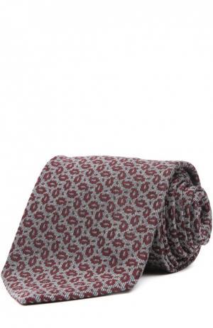 Галстук Brioni. Цвет: бордовый
