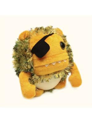 Мягкая игрушка Шарик Пиратик Malvina. Цвет: оранжевый, желтый