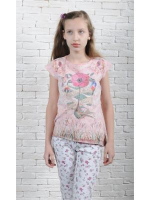 Кофточка ZEBRA KIDS. Цвет: розовый