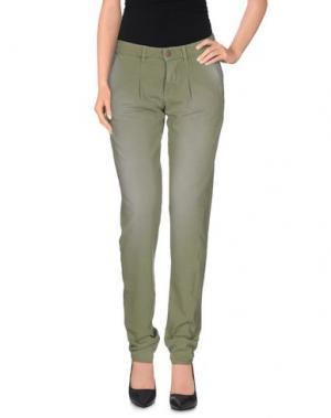 Повседневные брюки PRAIO. Цвет: зеленый-милитари