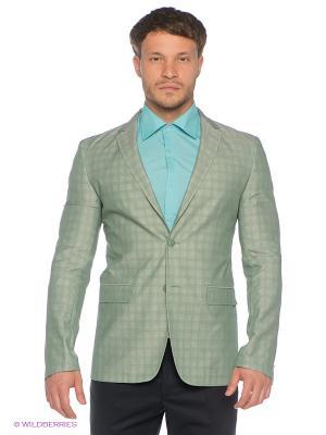 Пиджак BAZIONI. Цвет: светло-зеленый