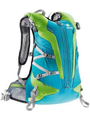 Рюкзак Deuter 2016-17 Pace 20 petrol-kiwi. Цвет: голубой