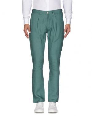 Повседневные брюки 26.7 TWENTYSIXSEVEN. Цвет: светло-зеленый