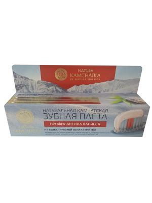 Паста зубная профилактика кариеса для всей семьи 100мл Natura Siberica. Цвет: голубой