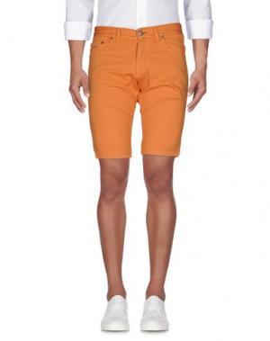 Бермуды ALV ANDARE LONTANO VIAGGIANDO. Цвет: оранжевый