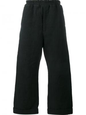 Широкие брюки By Walid. Цвет: чёрный