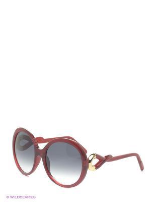 Солнцезащитные очки B 238 C4 Borsalino. Цвет: красный