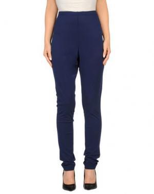 Повседневные брюки SEVERI DARLING. Цвет: темно-синий