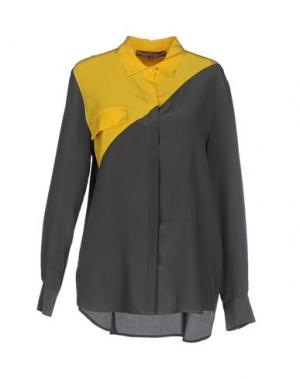 Pубашка SPACE STYLE CONCEPT. Цвет: свинцово-серый