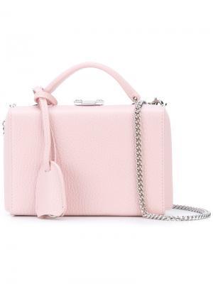 Сумка Grace Mark Cross. Цвет: розовый и фиолетовый