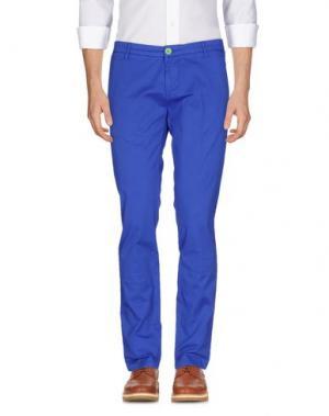 Повседневные брюки DIMATTIA. Цвет: ярко-синий